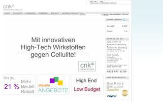 Cnkdirect Webseiten Screenshot
