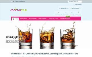COCKTAILSTAR Webseiten Screenshot