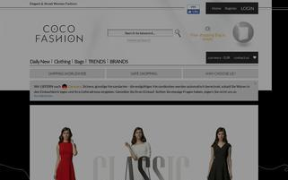 coco-fashion.com Webseiten Screenshot