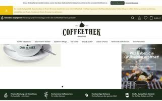 Coffeethek Webseiten Screenshot