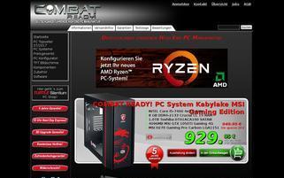 CombatReady Webseiten Screenshot
