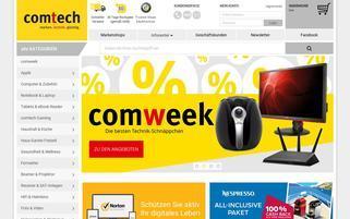 Comtech Webseiten Screenshot
