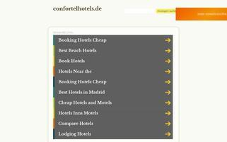 Confortel Webseiten Screenshot
