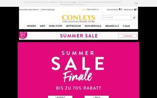 CONLEYS CH Webseiten Screenshot