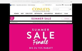 CONLEYS Webseiten Screenshot
