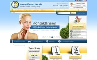 Contactlinsen-Man Webseiten Screenshot