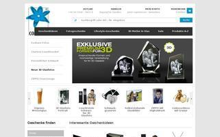 Contento Webseiten Screenshot