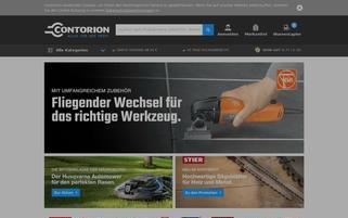 Contorion Webseiten Screenshot