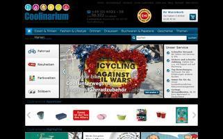 Coolinarium Webseiten Screenshot