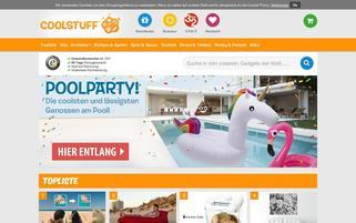 Coolstuff Webseiten Screenshot