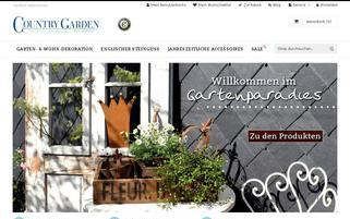 Country Garden Webseiten Screenshot