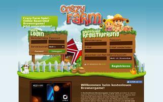 crazyfarm.de Webseiten Screenshot