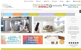 creoven.de Webseiten Screenshot