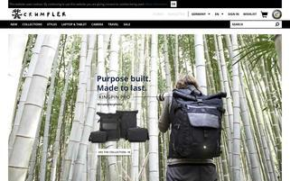 Crumpler Webseiten Screenshot