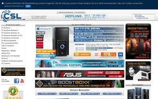 CSL-Computer Webseiten Screenshot