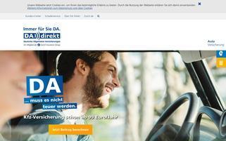 DA Direkt Webseiten Screenshot