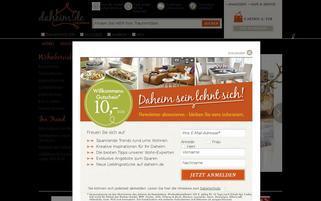 Daheim.de Webseiten Screenshot