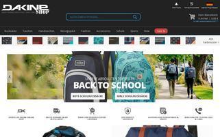 Dakine Webseiten Screenshot