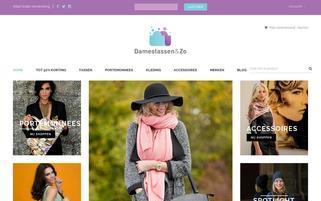 Damentaschen und So Webseiten Screenshot