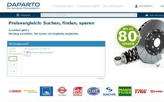 daparto.de Webseiten Screenshot