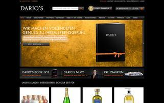 DARIOS Webseiten Screenshot