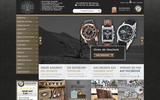 DAS HERRENHAUS Webseiten Screenshot