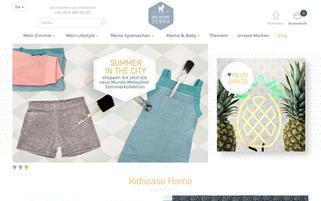 Das kleine Zebra Webseiten Screenshot