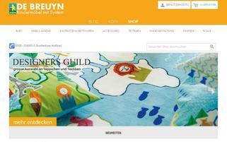 De Breuyn Webseiten Screenshot