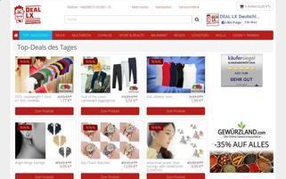 DEAL LX Webseiten Screenshot