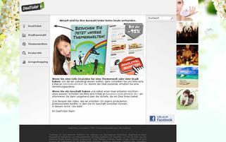 DealTicket Webseiten Screenshot