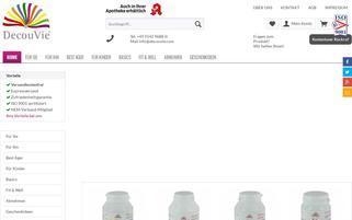 DecouVie Webseiten Screenshot