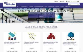 Dein-Klettershop Webseiten Screenshot