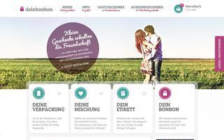 DeinBonbon Webseiten Screenshot