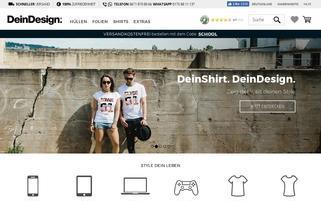 DeinDesign Webseiten Screenshot