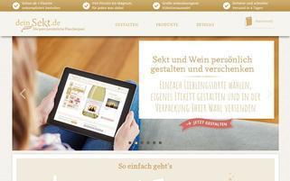 DeinSekt Webseiten Screenshot