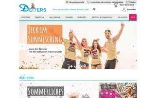 Deiters Webseiten Screenshot