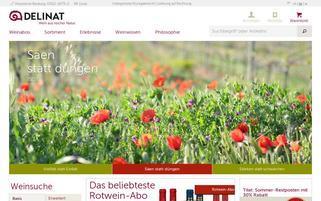 Delinat Webseiten Screenshot