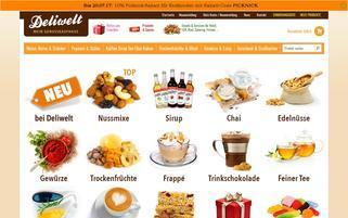 Deliwelt Webseiten Screenshot