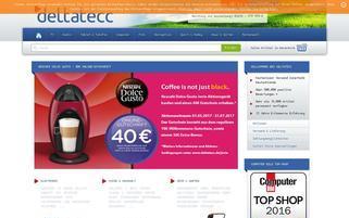 Deltatecc Webseiten Screenshot