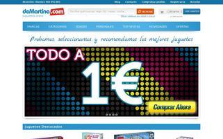 demartina.com Webseiten Screenshot