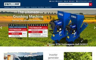 Denqbar Webseiten Screenshot