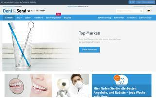 Dentsend Webseiten Screenshot