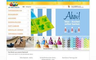 der Ideen-Shop Webseiten Screenshot