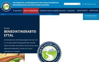 der-klosterladen.de Webseiten Screenshot