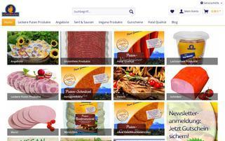 der-puten-shop.de Webseiten Screenshot