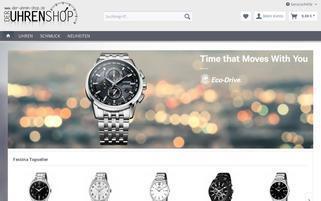 der-uhren-shop.de Webseiten Screenshot