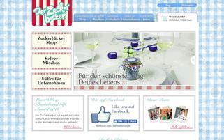 der-zuckerbaecker.de Webseiten Screenshot