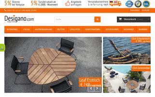 desigano.com Webseiten Screenshot