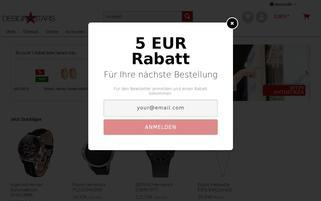 design4stars.de Webseiten Screenshot