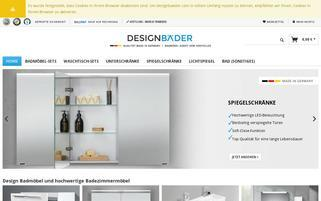 designbaeder.com Webseiten Screenshot